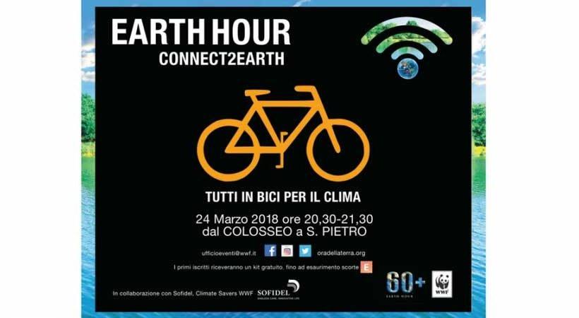 L'ora della Terra: a Roma anche Fiab alla manifestazione del 24 marzo