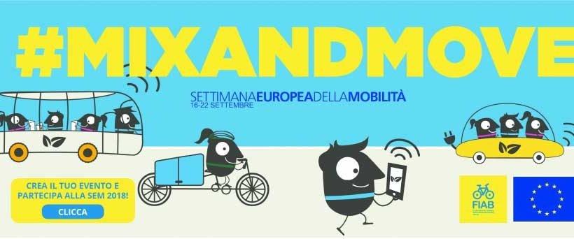 In occasione dell'European Mobility Week, FIAB presenta  la Settimana Europea della Mobilità… in bicicletta!
