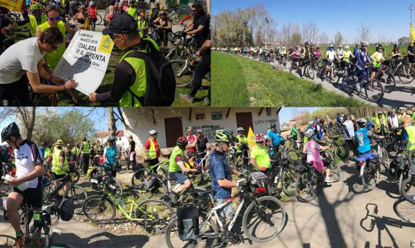 31 marzo 2019: Tantissime bici sul Brenta!